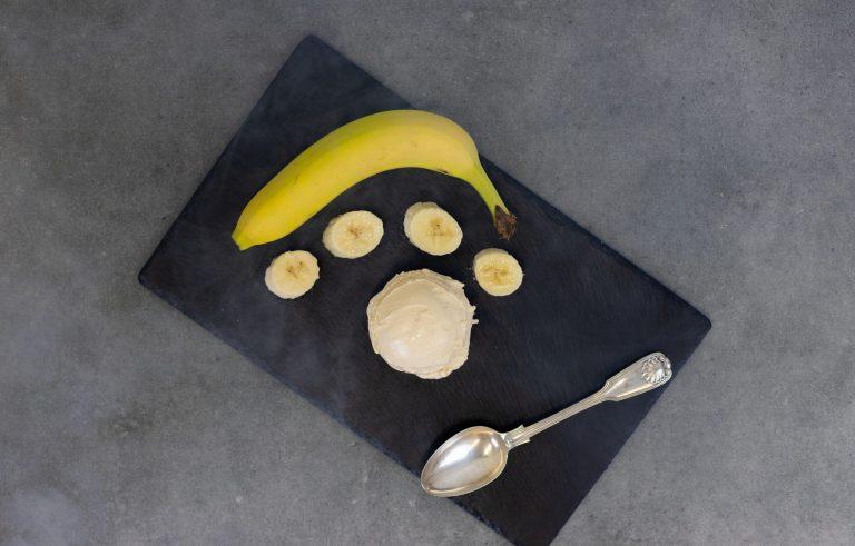 smoked banana gelato